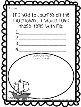 Mayflower Travels! {Freebie}