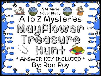 Mayflower Treasure Hunt : A to Z Mysteries (Ron Roy) Novel Study / Comprehension
