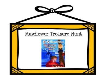 Mayflower Treasure Hunt, A to Z Mysteries Tri-Fold