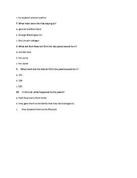 Mayflower Treasure Hunt Comprehensive Exam (A to Z  Mysteries)
