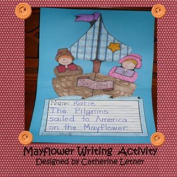 Mayflower Writing Activity