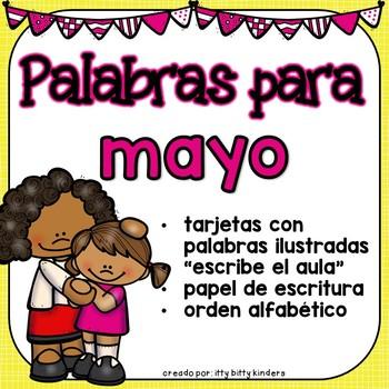 Mayo: Palabras Para Mayo