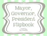 Mayor, Governor, President Flipbook Template FREEBIE