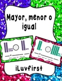 Mayor, menor o igual a