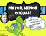Mayor, menor o igual que! NO PREP!