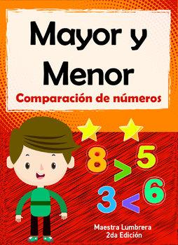 Mayor y Menor: Comparación de números
