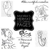 Mayra's MerMay Coloring Pages
