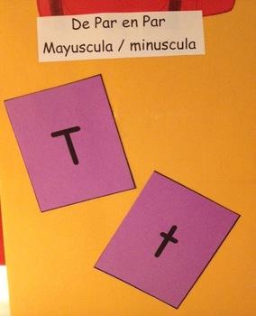 Mayuscula - minuscula  Memory Game