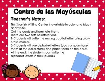 Mayusculas - Centro de Literatura / Capital Letters Spanish Center