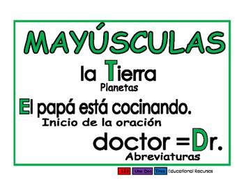 Mayusculas verde