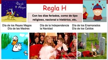 Mayúsculas y minúsculas in Spanish. Fun PPT capitalization in spanish