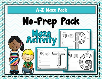 Maze Activity Pack