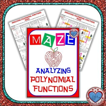 Maze - Analyzing Polynomial Functions