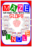 Maze - BUNDLE Find the SLOPE