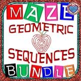 Maze - BUNDLE Geometric Sequence