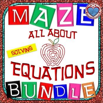 Maze - BUNDLE Solving LINEAR Equations