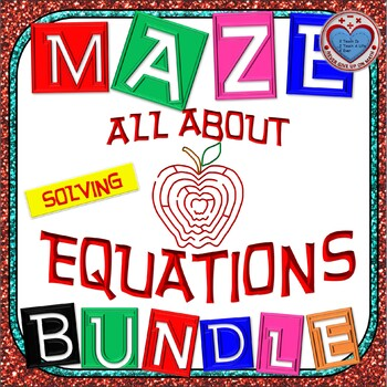 Maze - BUNDLE Solving LINEAR Equations