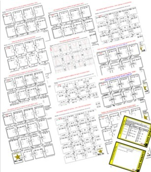 Maze - BUNDLE Solving Quadratic Equations (13 Mazes)