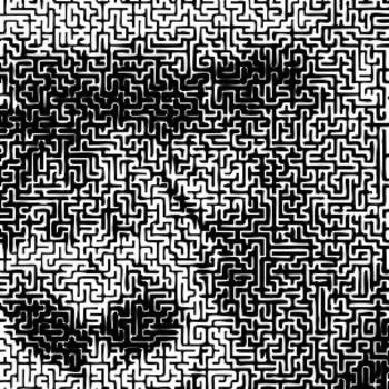 Maze Collection 1 - unique, full-page mazes