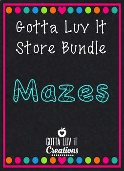 Gotta Luv It Maze Bundle 35% Off