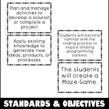 Scratch Lesson Plan - Maze Coding