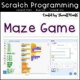 Scratch 3 Programming Lesson Plan - Maze Coding
