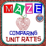 Maze - Comparing Unit Rates