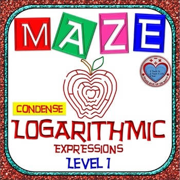 Maze - Condensing Logarithmic Functions (Simple Version)
