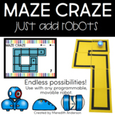 Coding with Robots - Tracks and Mazes for STEM Robotics and Hour of Code