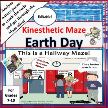 Earth Day Kinesthetic Maze