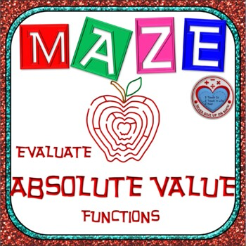Maze - Evaluating Absolute Value Functions