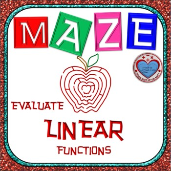 Maze - Evaluating Linear Functions