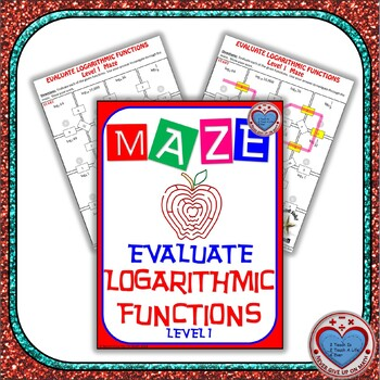 Maze - Evaluating Logarithmic Functions (Easy Version)