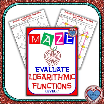 Maze - Evaluating Logarithmic Functions (Advanced Version)