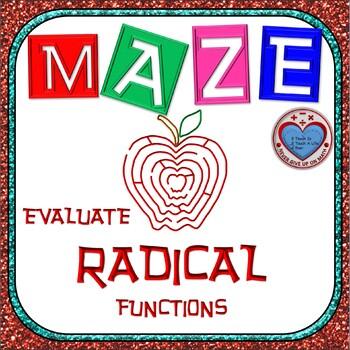 Maze - Evaluating Radical Functions