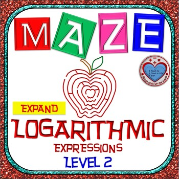 Maze - Expanding Logarithmic Functions (Advance Version)