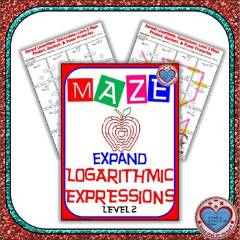 Maze - Expanding Logarithmic Functions (Advance Version)