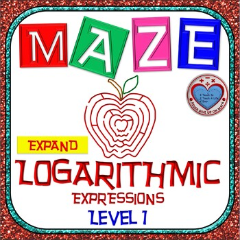 Maze - Expanding Logarithmic Functions (Simple Version)
