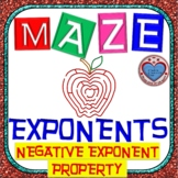 Maze - Exponents - Negative Exponent Property