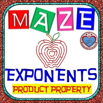Maze - Exponents - Product Property