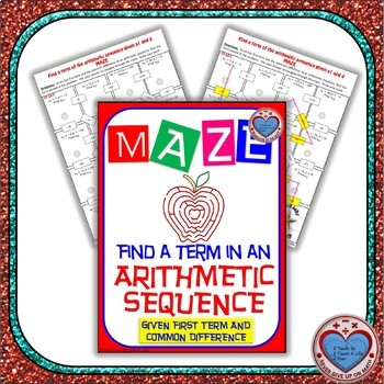 Maze - Find a term of an Arithmetic Sequence Given a1 and d