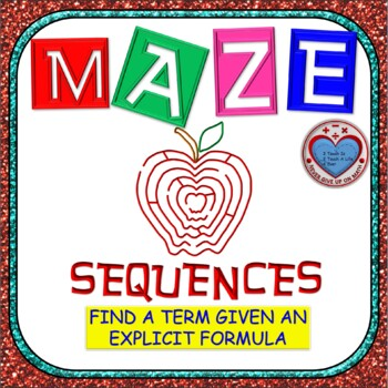Maze - Find a term of any sequence given the Explicit Formula
