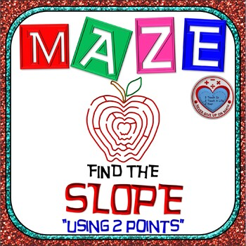 Maze - Find the SLOPE from a given set of ordered pairs.
