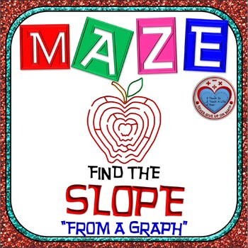 Maze - Find the SLOPE from a given graph.