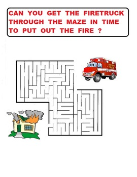 Maze For K - 3