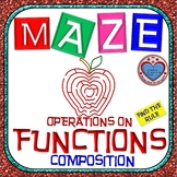 Maze - Functions - Composition of Functions (Find the Rule)