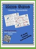 Maze Game - Converting Measurements