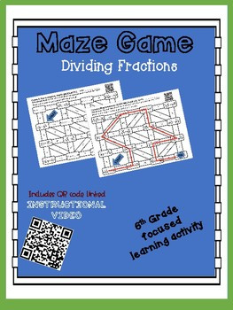 Maze Game - Dividing Fractions