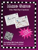 Maze Game Multistep Equations