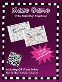 Maze Game Multistep Equations
